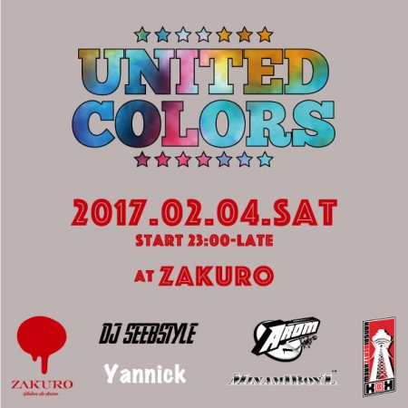 UNITED COLORS フライヤー表